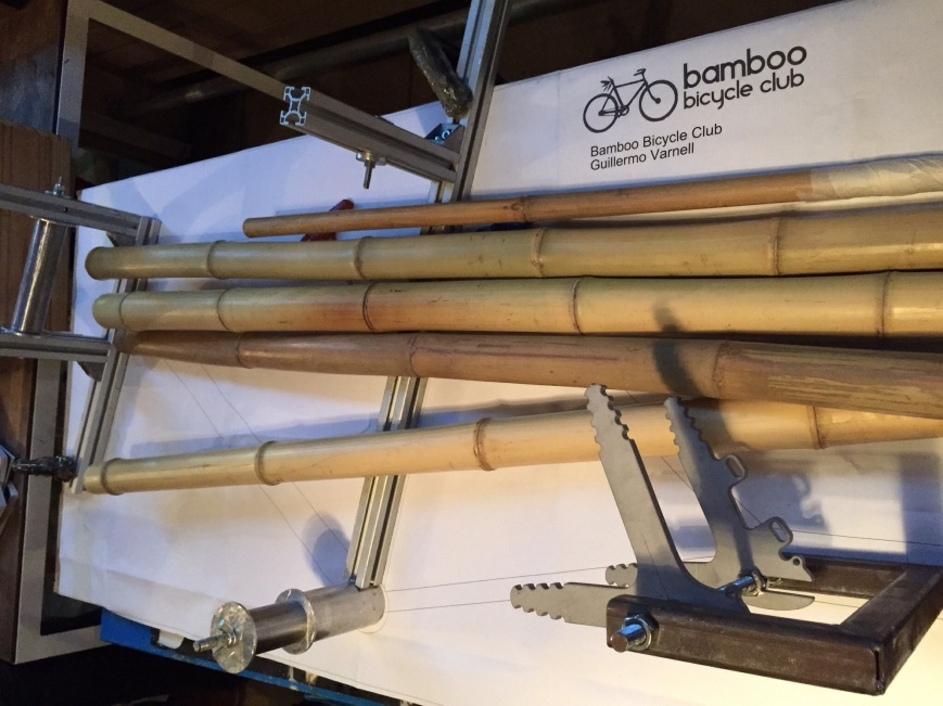 Bamboo on the jig